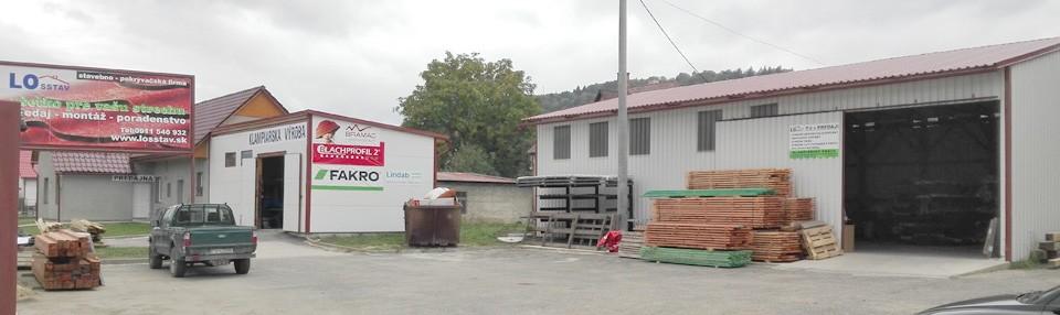 Strešná a klampiarska predajňa / výroba